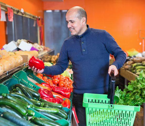 Muži po rozvode pozor: Dbajte na dostatok zeleniny a ovocia