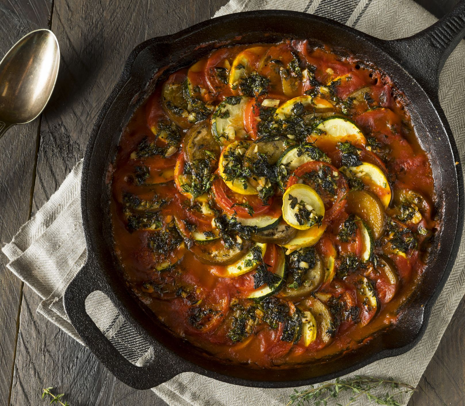 Francúzska klasika dvakrát inak: Vyskúšajte zeleninový ratatouille
