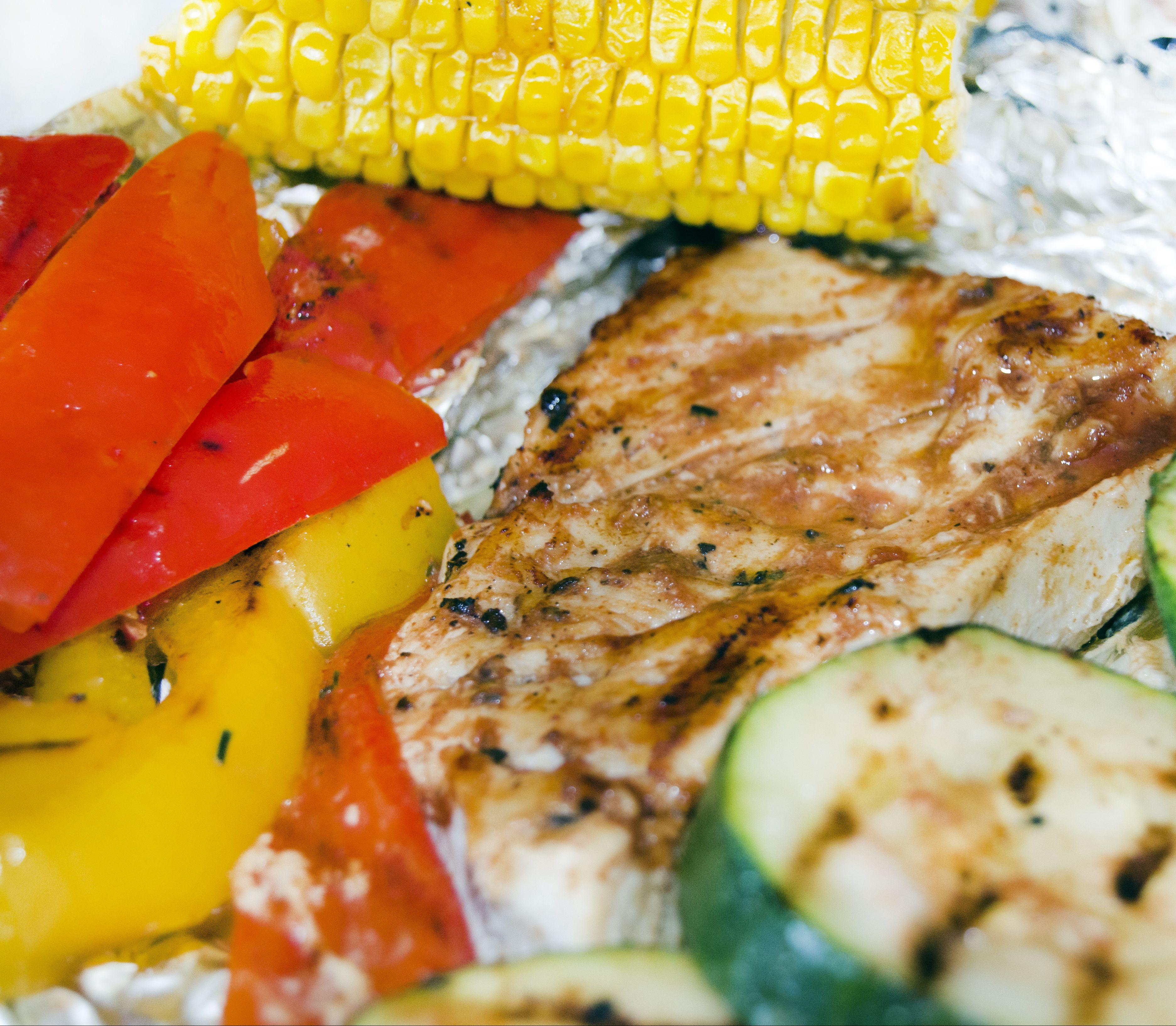 FOTORECEPT Barbecue kuracie mäso a zelenina: Hodí sa aj pri diéte