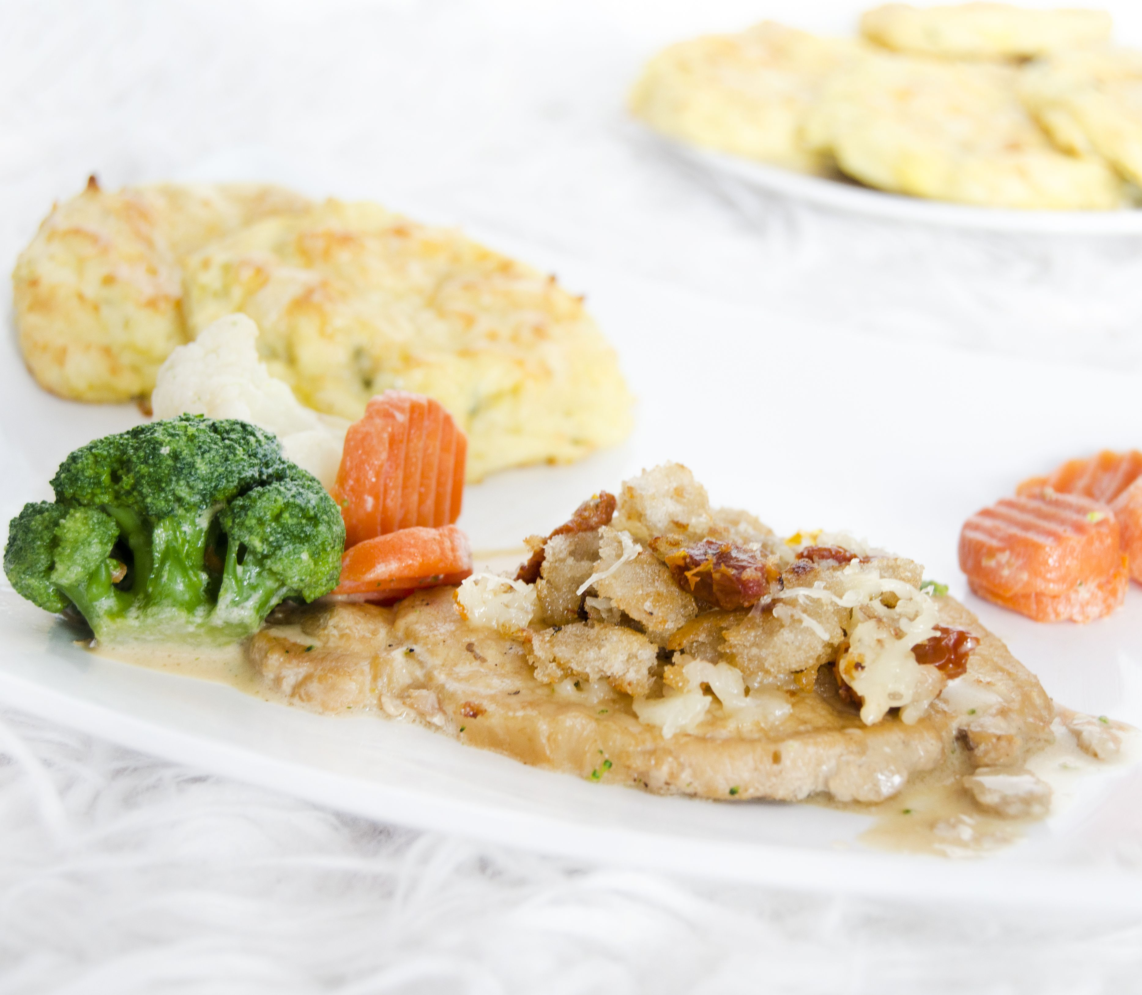 FOTORECEPT Bravčové mäso so zemiakovými fašírkami: Skúste túto silnú kombináciu!