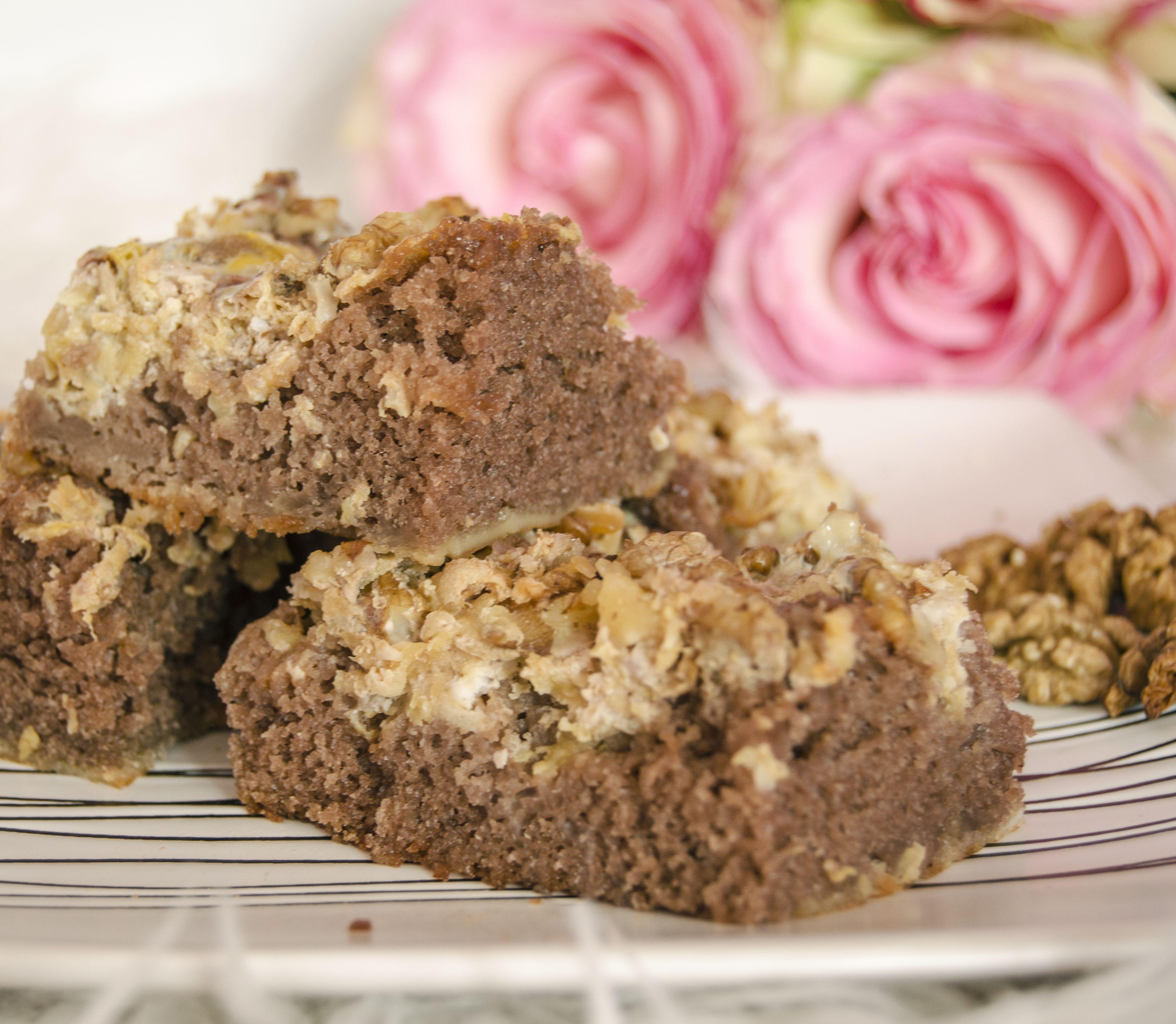 FOTORECEPT Jablkovo-orechový koláč: Zamilujete si ho aj vy