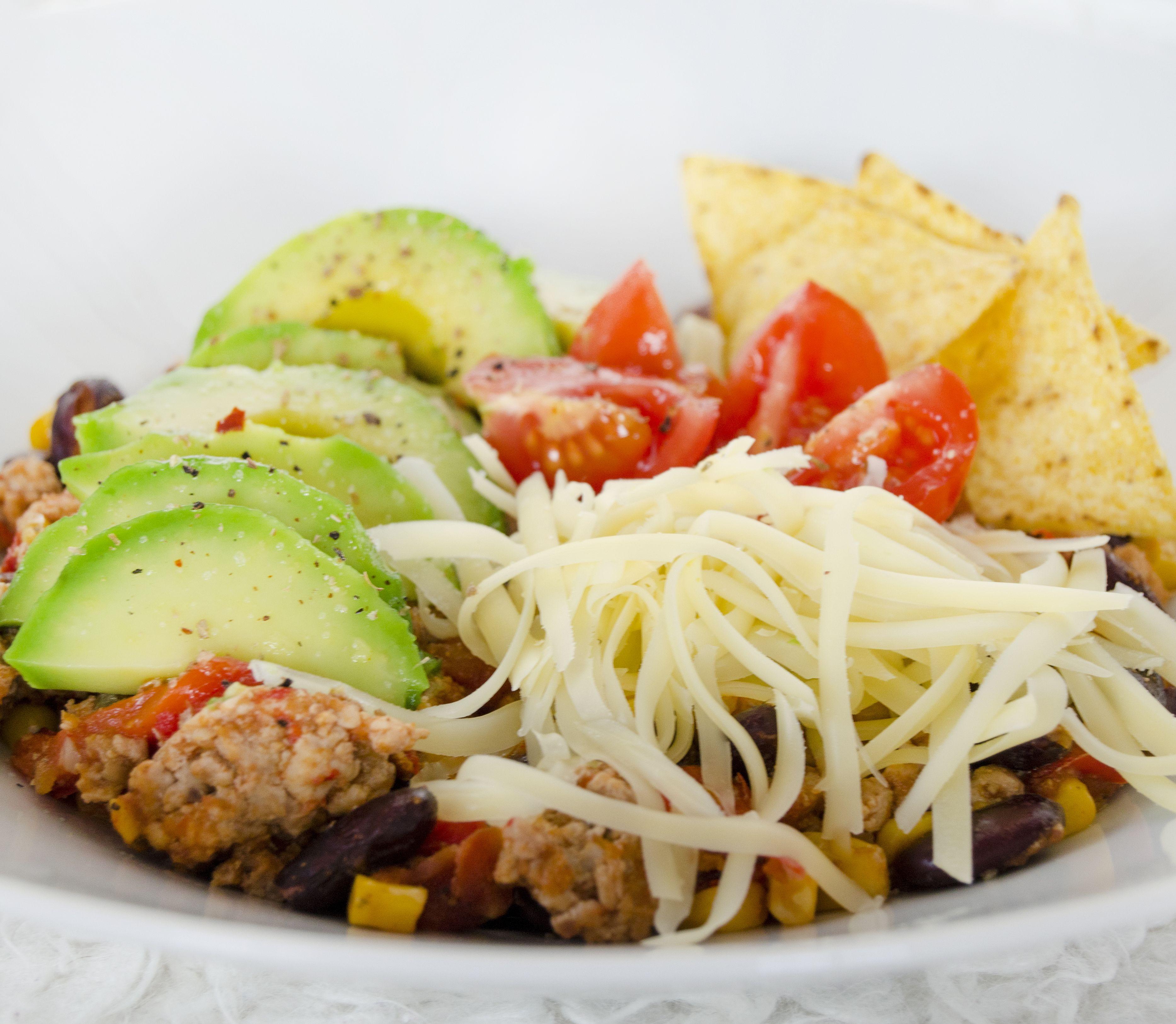 FOTORECEPT Mexická fazuľa z morčacieho mäsa s avokádom: Šťavnatá zdravá pochúťka