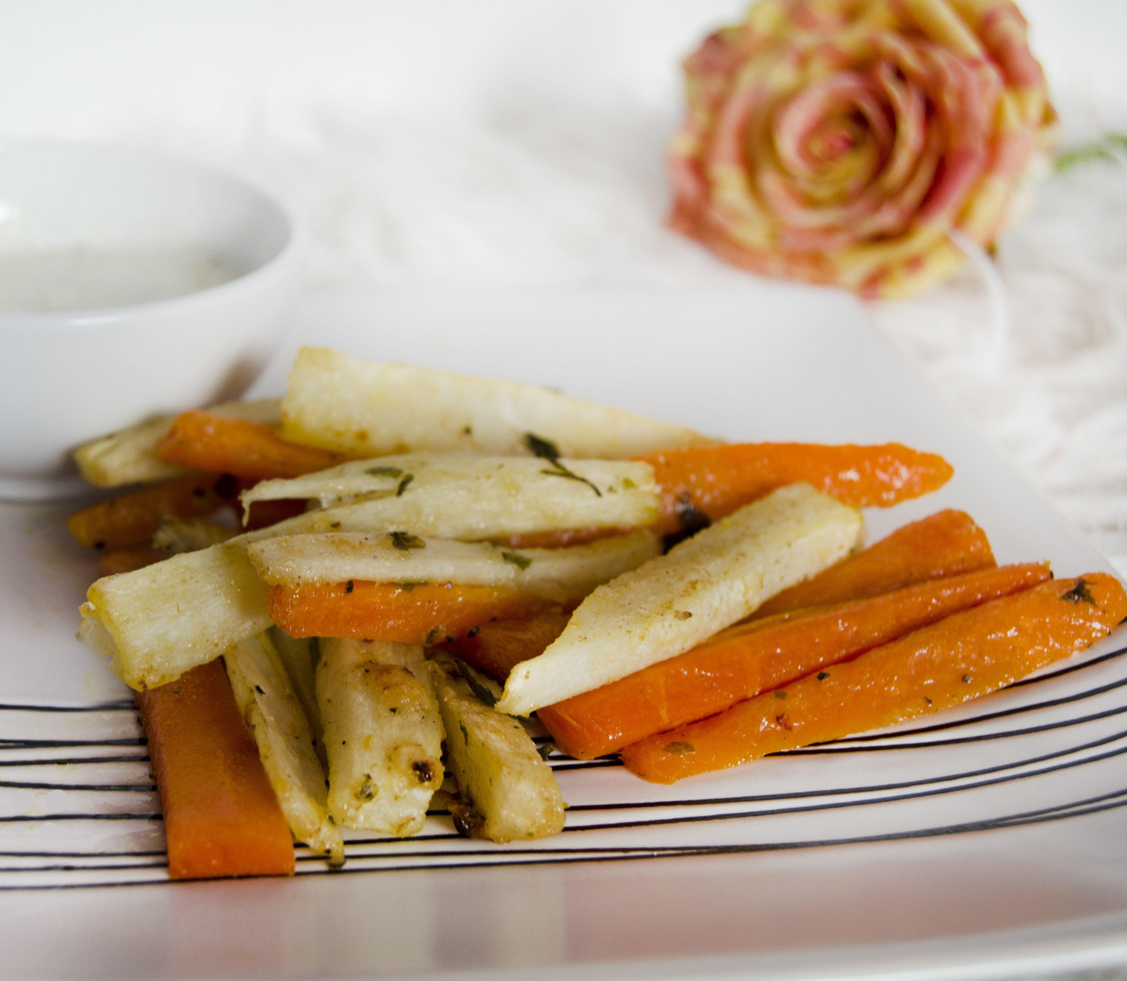 FOTORECEPT Zdravšie a rovnako chutné: Vyskúšajte hranolky z petržlenu a mrkvy