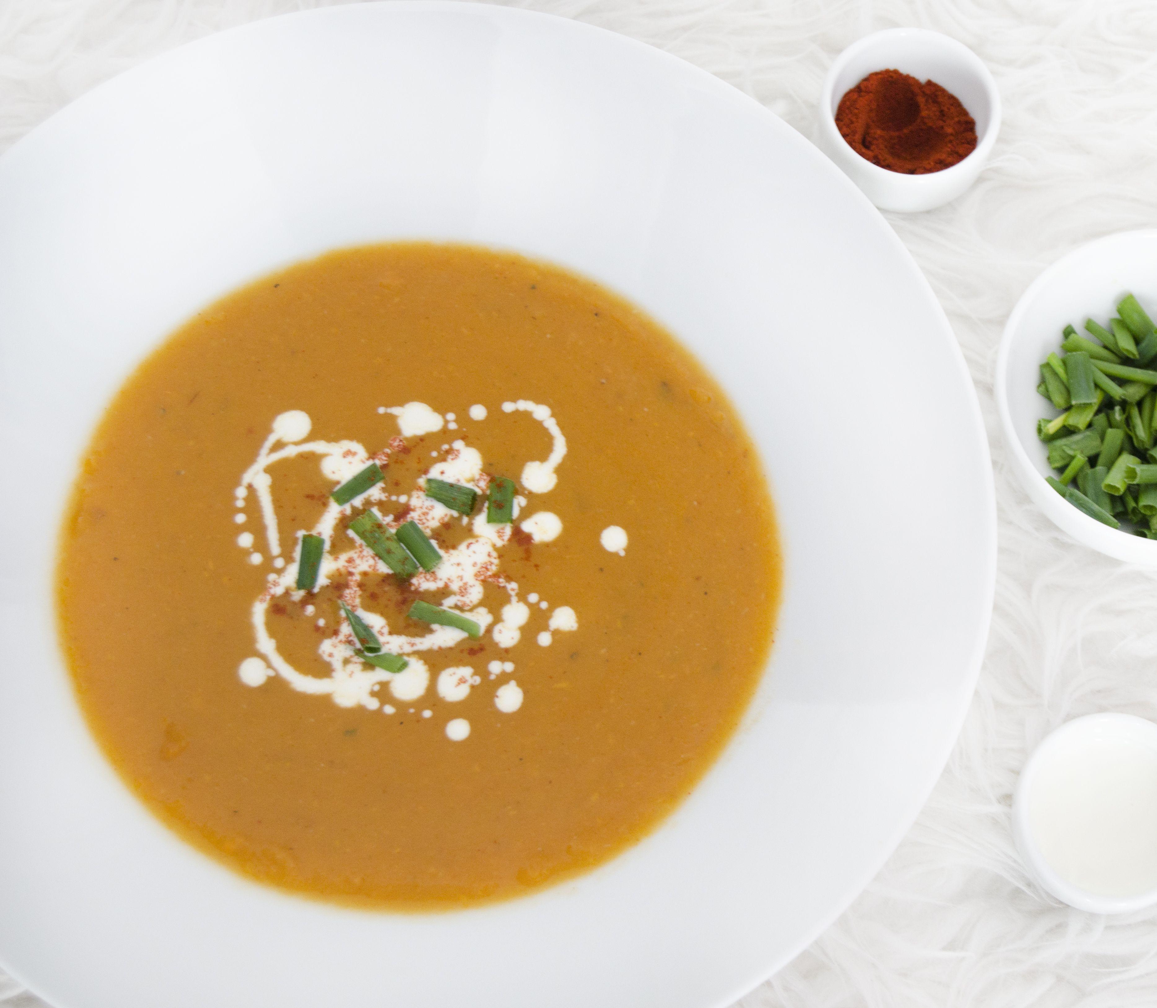 FOTORECEPT Krémová a lahodná: Polievka zo sladkých zemiakov zachutí aj vám