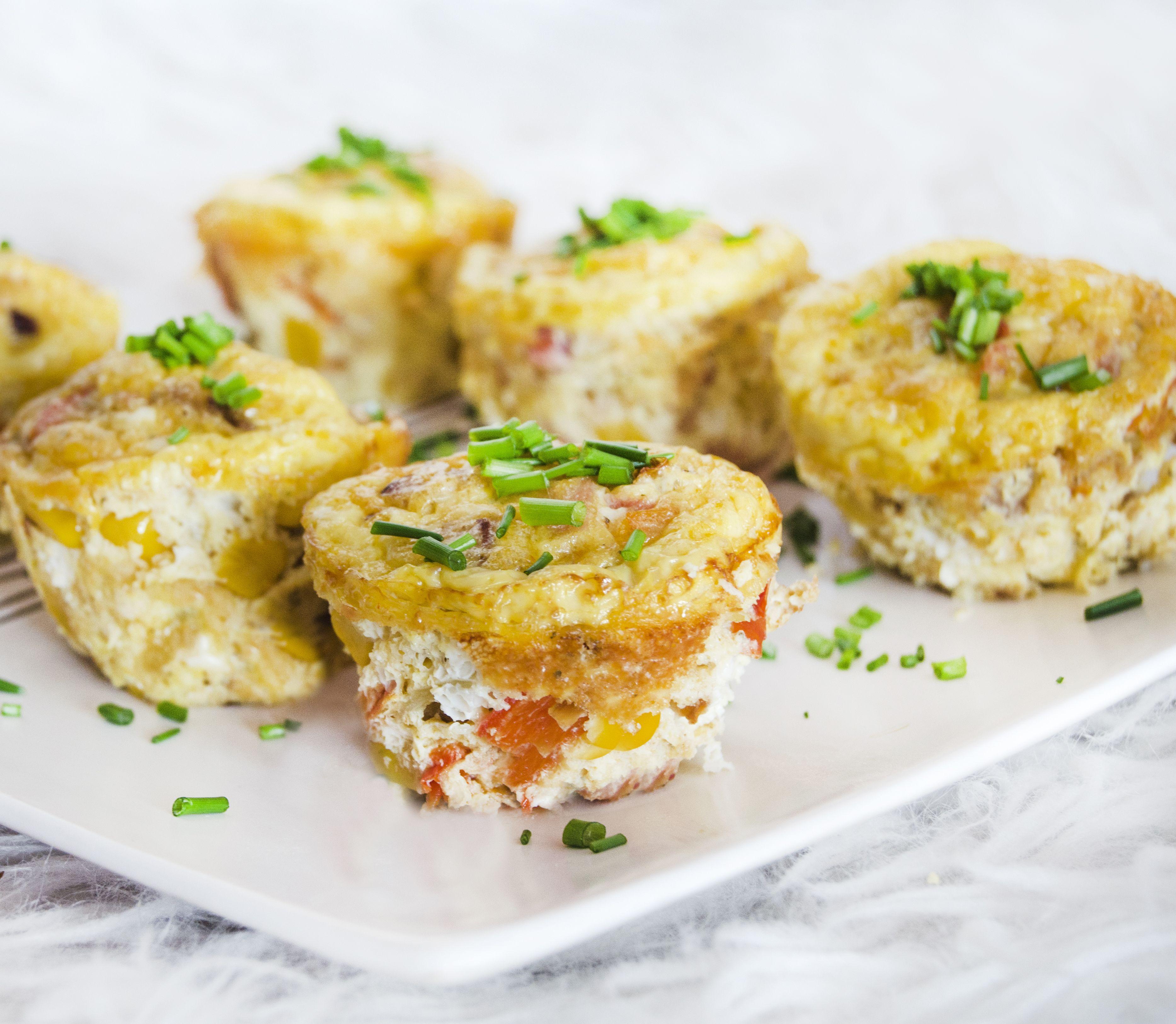 FOTORECEPT Vajíčkové muffiny: Chutné raňajky či večera na vašom stole