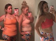 FOTO úžasnej premeny: Dievčina schudla 29 kíl bez posilňovne a diét za jediný rok